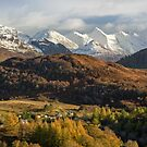 Five Sisters In Autumn. Auchtertyre Hill. Kintail. Highlands of Scotland. by Barbara  Jones ~ PhotosEcosse
