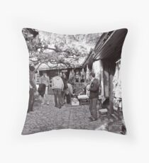 Bazaar,Safranbolu Throw Pillow