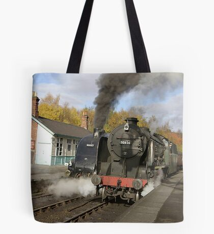 Crossing the Line Tote Bag