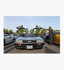 DeLorean DMC12 Photographic Print