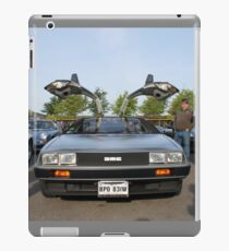 DeLorean DMC12 iPad Case/Skin