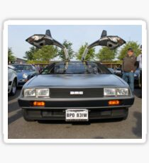 DeLorean DMC12 Sticker