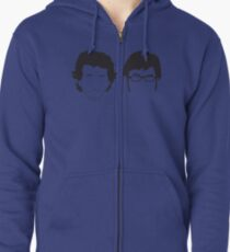 Flight of the Conchords Silly-ettes Zipped Hoodie