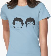 Flight of the Conchords Silly-ettes Womens Fitted T-Shirt