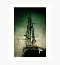 "Sail Training Ship ""Lord Nelson"" Art Print"