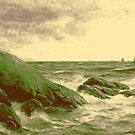 BERNDT LINDHOLM, WAVES AGAINST THE SHORE  by MotionAge Media