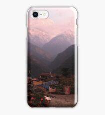 Gangdruk on the Annapurna trek in Nepal iPhone Case/Skin