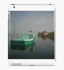 Nova Scotia Fishing Boat on the Coast iPad Case/Skin