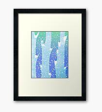 Wintery Trees Framed Print