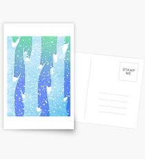 Wintery Trees Postcards