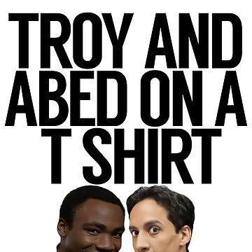Troy y Abed en AT Shirt de politedemon
