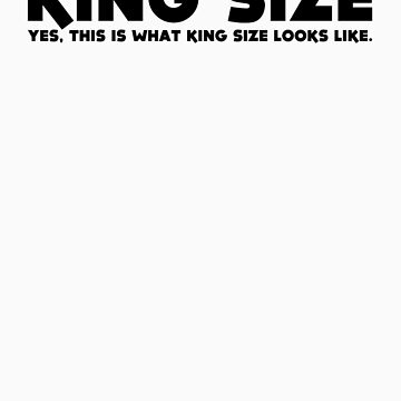 KING SIZE by webart