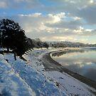 River Taw Winter Snow by Hucksty