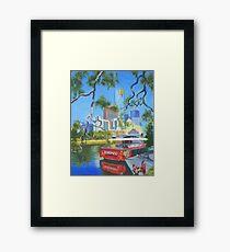 Yarra Cruiser Framed Print