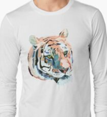 Tiger No.2 Head Long Sleeve T-Shirt