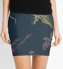 Rainbow Jellyfish Mini Skirt
