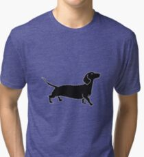 Connect The Doxie Dots Tri-blend T-Shirt