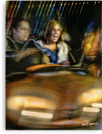 Carney • Bumper Cars by Ted Byrne