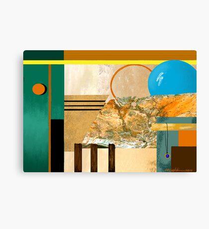 """Circles"" Canvas Print"