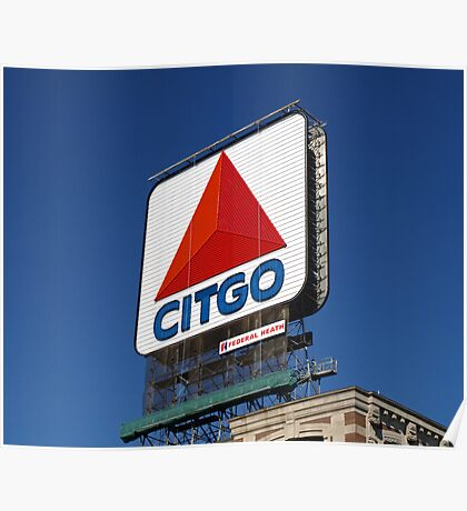 "Bostons Beloved ""CITGO"" Sign. Poster"