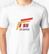F1 2015 - #55 Sainz [v2] Unisex T-Shirt