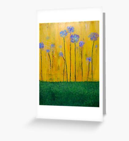 Flower Field Greeting Card