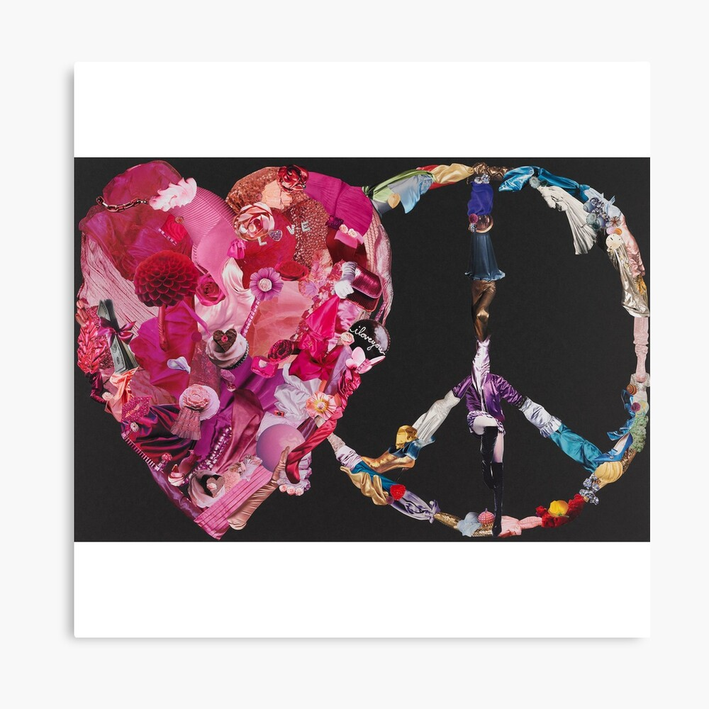 Song of Love and Peace Canvas Print