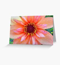 Dahlia - Chanson Greeting Card