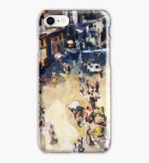 Old city marketplace iPhone Case/Skin
