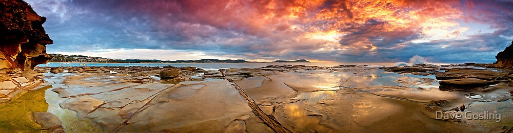 Terrigal Fire by Dave  Gosling Photography