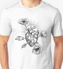Heart and flowers-arrows T-Shirt