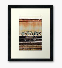 WEAK Framed Print