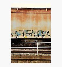 WEAK Photographic Print