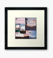 Tweets Framed Print