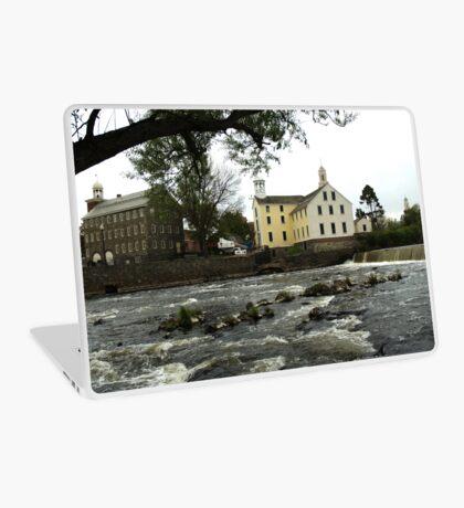 Across the river Laptop Skin