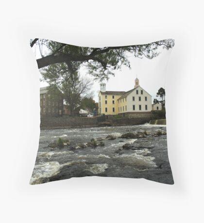 Across the river Throw Pillow