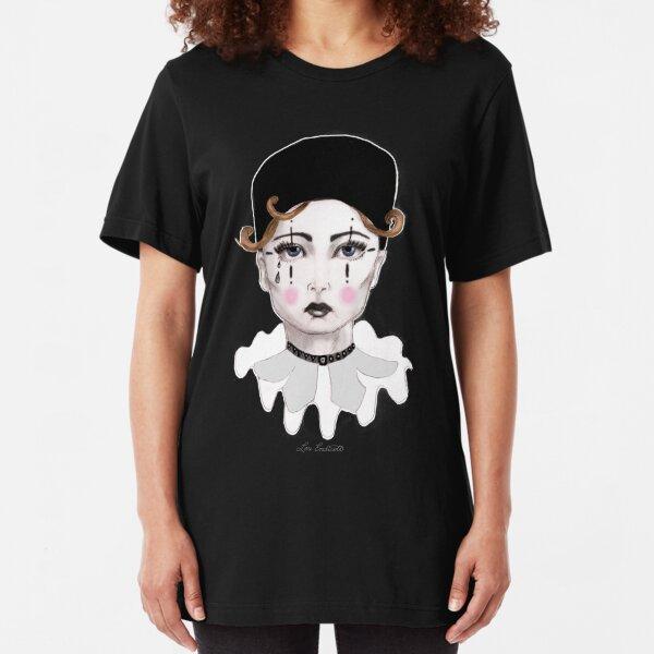Pierrot - The Sad Clown Slim Fit T-Shirt