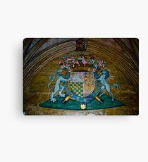 Heraldry Canvas Print