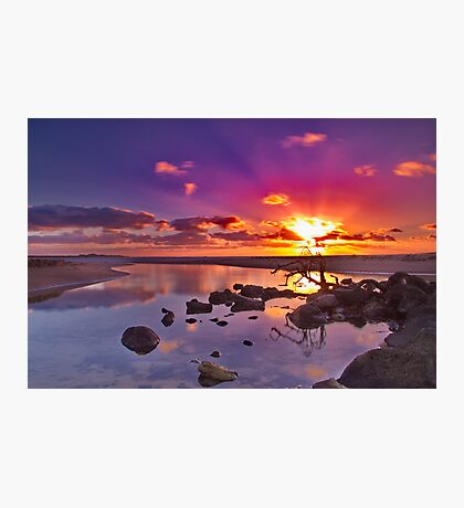 """Dayspring at Fisherman's Beach"" Photographic Print"