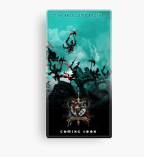 The Game of Kings - The Endgame Begins 9 May Canvas Print