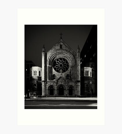 Sacred Heart, Tampa Florida Art Print