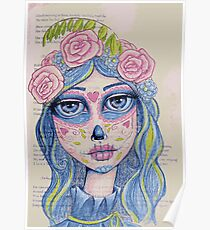 Sugar Skull Girl 1 of 3 Poster