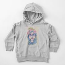 Sugar Skull Girl 1 of 3 Toddler Pullover Hoodie