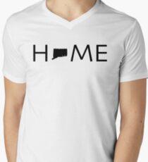CONNECTICUT HOME Men's V-Neck T-Shirt