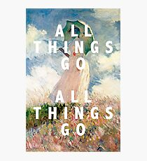 all things go Photographic Print