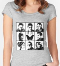 Until dawn - main characters Women's Fitted Scoop T-Shirt