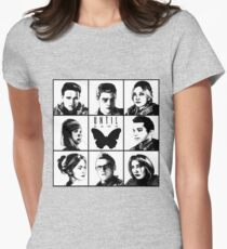Until dawn - main characters Womens Fitted T-Shirt