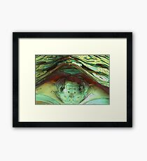 Into the Belly of the Beast Framed Print