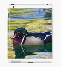 Wood Duck #3 iPad Case/Skin