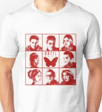 until dawn characters - red Unisex T-Shirt